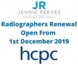 HCPC Renewal 2019